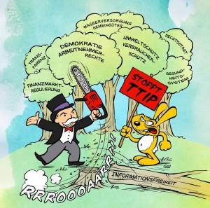 TTIP Stoppen -  Bündnis Köln – No TTIP